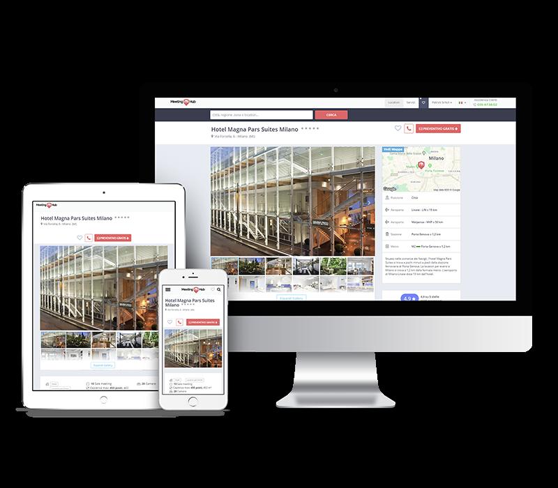 Pubblicizza la tua attività con Meeting Hub